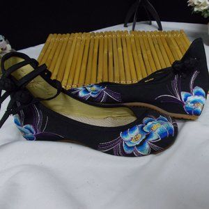 Shoes - Zuyun Buxje blue orchid